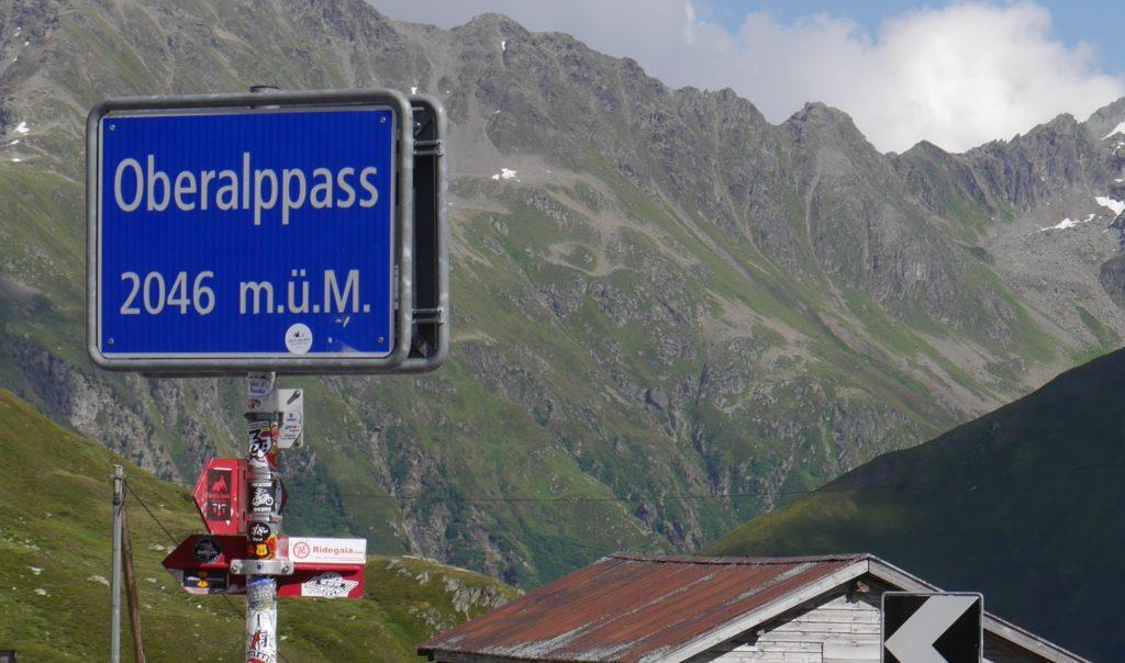 Oberalppass Schweiz Passhöhe