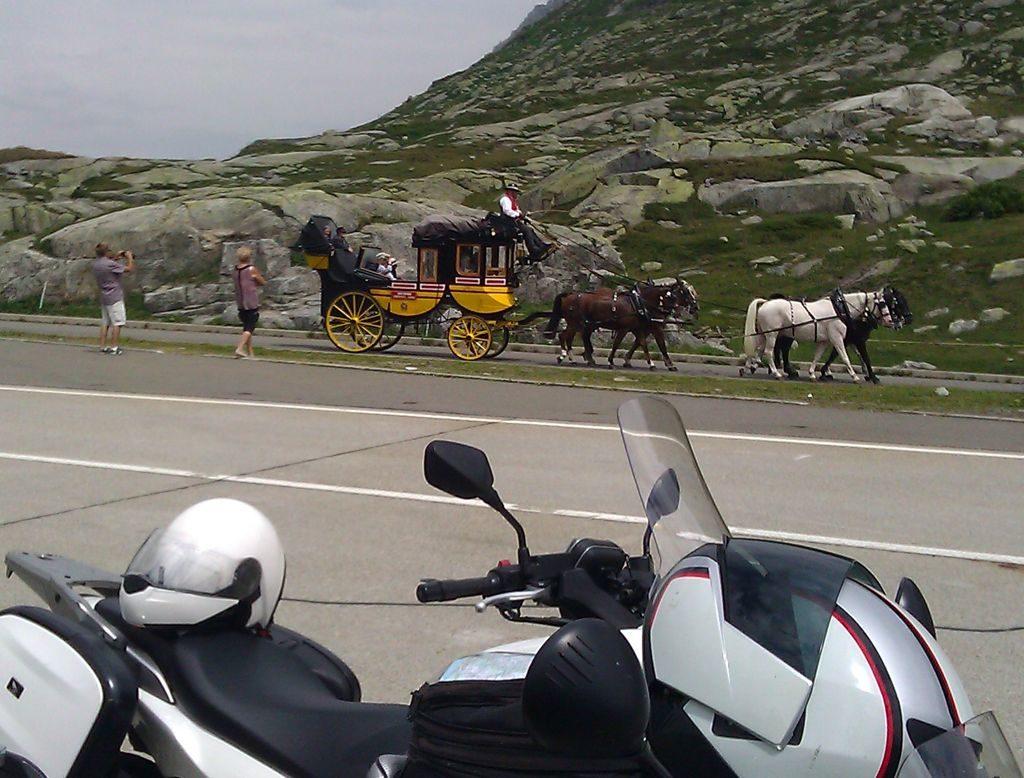 Gotthard Passhöhe Historische Gotthardpost