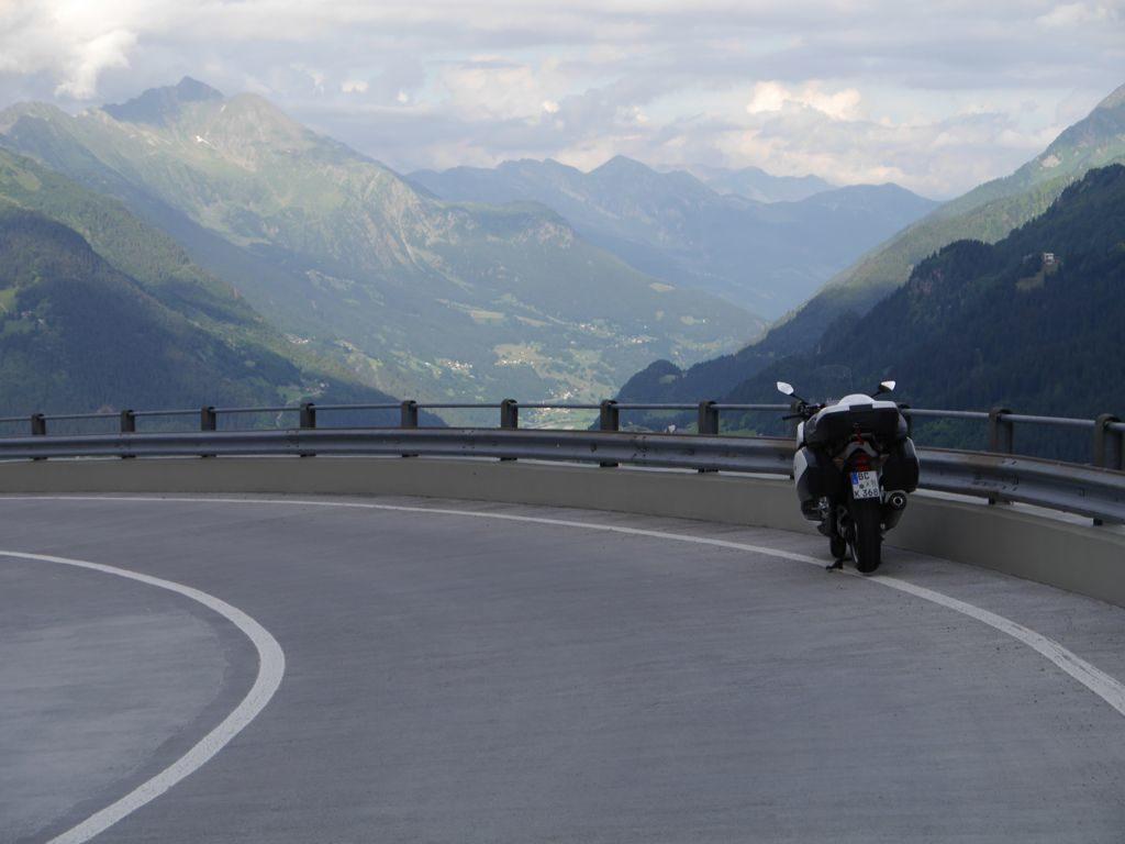 Gotthard - Bedretto-Kurve - Blick nach Süden