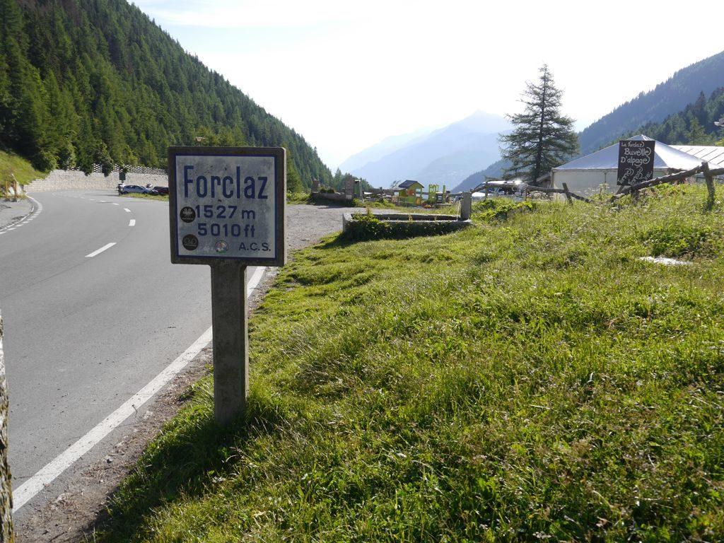 Col de la Forclaz - Wallis - Passhöhe