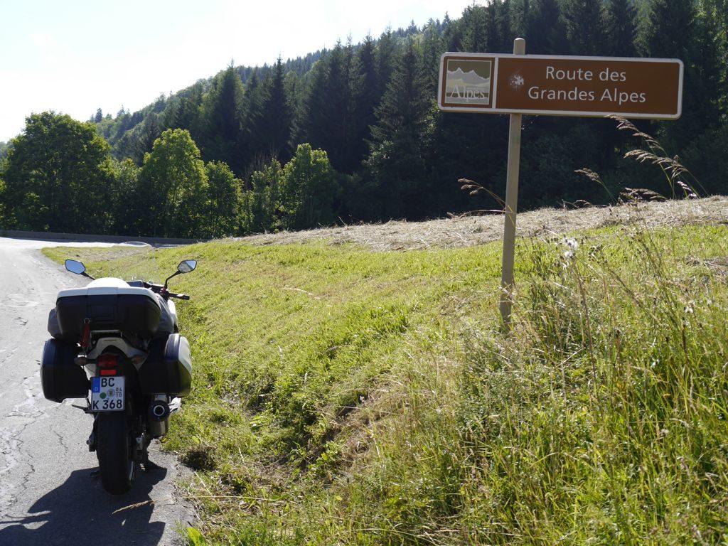 Flumet - Route des Grandes Alpes