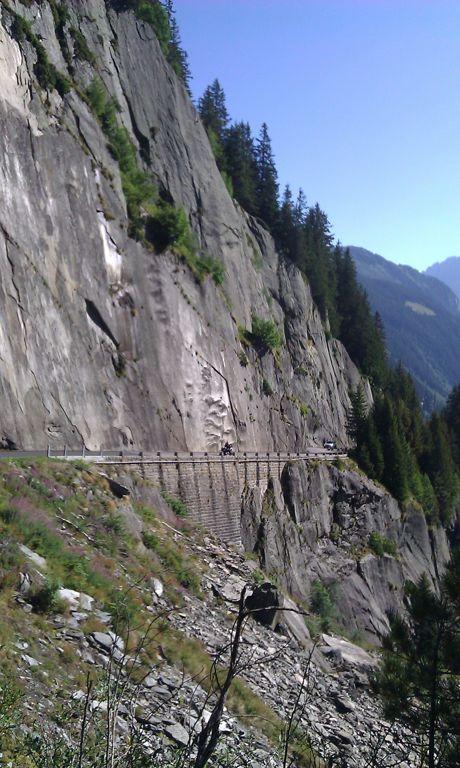 Auffahrt zur Göscheneralp - Schweiz - Kanton Uri