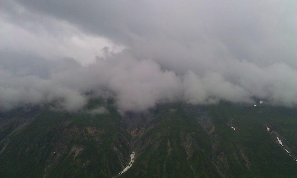 Schweiz - Nufenen - Regenwolken
